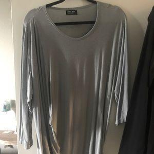 Grey dress never worn by ZARA MAN size xl